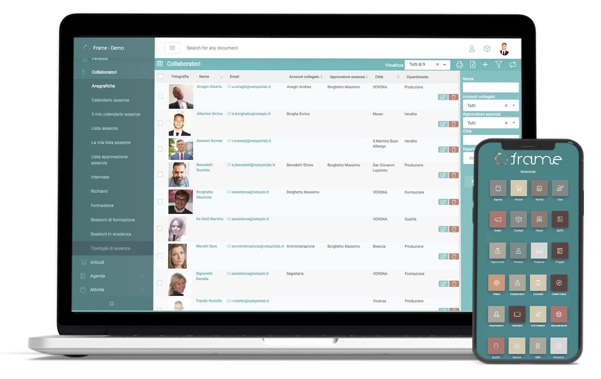 Cerchi un tool per gestire i dati dei Dipendenti e Collaboratori?